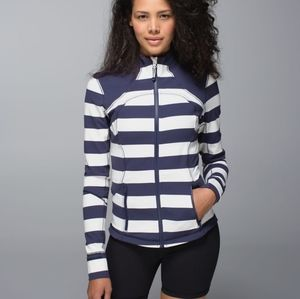 LULULEMON cadet striped forme jacket